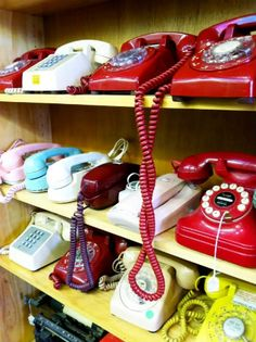 Collectibles - Phones are like typewriters and sewing machines.  They are not collected and then all of a sudden something makes them cool and then they are red-hot!  If you can understand that logic you're doing good to understand the warped part of my brain.