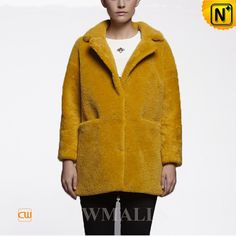 CWMALLS Womens Shearling Fur Coat CW650301 Classics lamb fur shearling coat crafted from natural lamb fur shearling with lamb leather lining that is comfortable, soft, thick and warm,your best choice of outerwear for this chilliest winter!  Cwmalls offer customize service for this shearling coats. www.cwmalls.com PayPal Available (Price: $1257.89) Email:sales@cwmalls.com