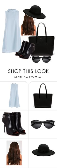 """""""Tote bags"""" by michellesfashioncompany ❤ liked on Polyvore featuring Lacoste, Givenchy and Betmar"""