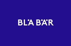 Logo by Swedish studio BVD for Osaka-based retailer of Scandinavian goods Blå Bär. #branding