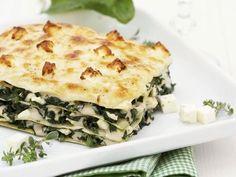 Spinat-Feta-Lasagne. Entdecke dieses Rezept mit der Note 5/5, bewertet von 186 Mitgliedern.