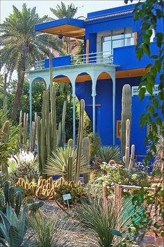 La villa Majorelle (Marrakech)