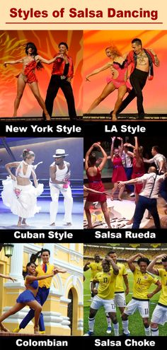 There are many different styles of salsa dance danced around the world! From elegant New York-style salsa to the fast footwork of Colombian-style salsa, learn the different types of salsa dancing! #salsadance #salsadancing #salsadancers #salsa Salsa Dance, New York Style, Dance Photos, Different Styles, Dancing, Around The Worlds, Elegant, Music, Photography