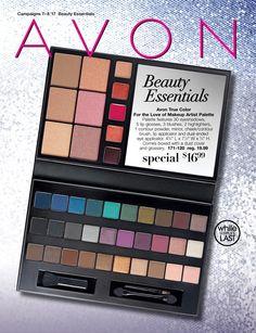 Avon Campaign 8 2017 Brochure Online Beauty Essentials Flyer - to view current Avon Brochures & Flyers online now, visit:  https://www.avon.com/brochure?rep=barbieb