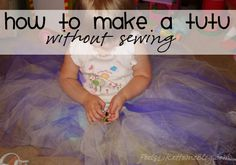 This is the best tutu tutorial I've ever seen. She makes it sound so easy!