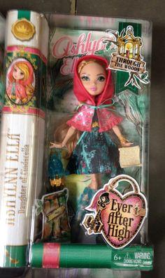 Ever After High Through The Woods Ashlynn Ella Doll for sale online Ever After High, New Dolls, Barbie Dolls, Ashlynn Ella, Harry Potter Dolls, Ever After Dolls, After High School, Raven Queen, Monster High Dolls