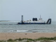North Carolina – Dredge project clears channel, adds sand, but issues remain North Carolina, Coastal, Engineering, Channel, Ads, Beach, Water, Projects, Outdoor