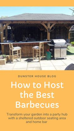 A guide to transforming your outdoor space so you can host the best barbecues and garden parties.