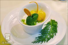 Pre-dessert with herbs at Le Normandie @MO_Bangkok www.mevblog.com/mev/le-normandie#MO_Bangkok #Mevblog #Dessert #Herb #Recommended #Michelin #Chef #Molecular #Gastronomy #Contemporary #French #Cuisine #Gourmet #Finedining  #Foodie #Bangkok