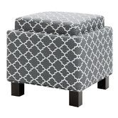 Found it at Wayfair - Shelley Square Storage Cube Ottoman