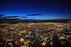 Bogota, Colombia >> The Top Ten Places to Visit in South America Night Skyline, Tens Place, Fantasy Island, Night City, Landscape Pictures, Adventure Is Out There, Dream Vacations, Beautiful Landscapes, Travel Pictures