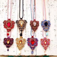 #ShareIG Dopodomani necklaces! #colors #soutache #originales #siemprealgonuevo…