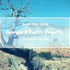 To explore Ghost Ranch and Abiquiu and experience the landscapes made famous by Georgia O'Keeffe is a wonderful day trip from Santa Fe or Taos, New Mexico. #globalphile #travel #tips #destination #lonelyplanet #roadtrip2016 #nm http://globalphile.com/georgia-okeeffe-country-ghost-ranch-abiquiu/