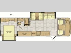 Sleeping space for six people, and a spacious front living area is what you will find throughout this Flair class A motor home by Fleetwood RV. Fleetwood Motorhomes, Rv Clubs, Fleetwood Rv, Purchase Contract, Internet Prices, Best Family Vacations, Rv Dealers, Flat Panel Tv
