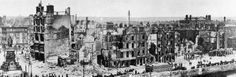 The Easter Rising, Dublin, 1916. The aftermath.  The Easter Rising (Irish: Éirí Amach na Cásca) was a rebellion staged in Ireland against British rule on Easter Monday in April 1916. Despite its military failure, it can be judged as being a significant stepping-stone in the eventual creation of the Irish Republic.