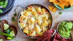 Kremet kyllingsalat | Oppskrift - MatPrat Steamed Buns, Cottage Cheese, Tex Mex, Quiche, Mashed Potatoes, Cauliflower, Cookies, Vegetables, Breakfast