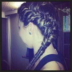 Hab meiner Freundin die Haare gemacht ❤