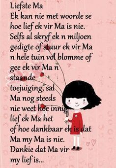 moedersdag boodskappies in afrikaans Mothers Day Quotes, Mom Quotes, Qoutes, Life Quotes, Birthday Scripture, Grieving Quotes, Afrikaanse Quotes, Birthday Wishes Quotes, Quotes About Motherhood