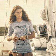 I was looking at my friend Didier Malige's instagram earlier in the year and I noticed a photograph he posted mourning the tragic loss of Florence Arthaud, the french sailor who, among her many accomplishments, broke a world record in 1990 as the first woman to sail solo across the Atlantic. At first it was her most excellent tomboy style, her athletic body and her natural beauty that caught my eye. But as I sought to learn more about her, her character and female pride impressed me…