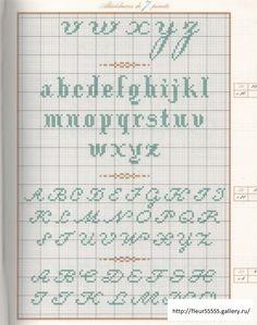 Velerie Lejeune, repertoire des alphabets