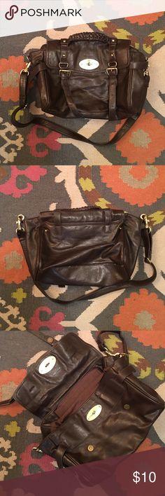 5099d50c53 MULBERRY Alexa lookalike Dark Brown Bag Purse MULBERRY Alexa knockoff dark  brown purse that I got