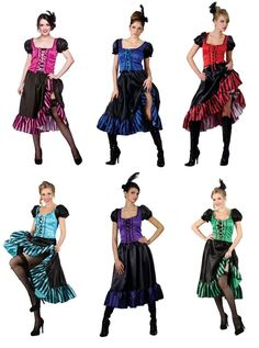 Great fun sexy fancy dress costume. Includes Top, skirt & headpiece. See size guide in gallery. Full Size Image. Red, Pink, Blue, Purple, Green, Turquoise. On the run up to Halloween due to the volume of orders being placed on a daily basis it may not always be possible to dispatch as quickly as we would like. | eBay!