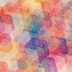 Geometric patterns - iPad HD Retina Wallpapers designed by Simon C Page | Veerle's blog 3.0