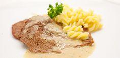 Österreichisches Saftfleisch mit Fusilli Rezept