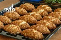 10 Dakikada Simit Poğaça Tarifi Turkish Recipes, Banana Bread, Delicious Desserts, Muffin, Brunch, Food And Drink, Meals, Breakfast, Karma
