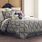 Cindy Crawford Style Striae Damask Comforter from JC Penny