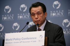 WPC 2009, Marrakech - Han Seung-Soo, former Prime Minister of the Republic of Korea