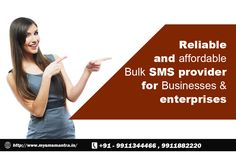 Bulk Sms Service Provider Company in India