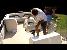 Ship Shape TV - Veada Boat Seats - Pontoon Restoration 2013 - YouTube