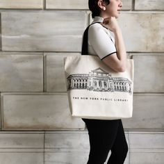 New York Public Library lovers , this tote is for you.