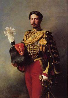 """Franz-Xaver Winterhalter: """"Édouard André"""", 1857,  Musée Jacquemart-André."""