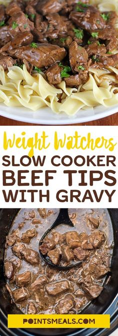 Super Weight Watchers Recipes With Points Slow Cooker Skinny Kitchen 15 Ideas Ww Recipes, Cooking Recipes, Healthy Recipes, Kitchen Recipes, Cooking Fish, Beef Tip Recipes, Recipes With Beef Tips, Meals With Beef, Sirloin Recipes