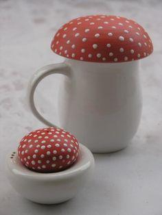 salt and pepa and mushroom....