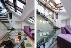 Paredes de Vidro em Interiores de Loft por In Situ Arquitetos