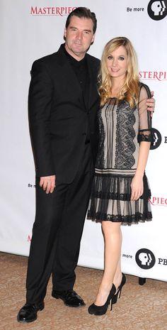 Brendan Coyle and Joanne Froggatt ~ Anna and Bates ~ Love them, Love that dress!