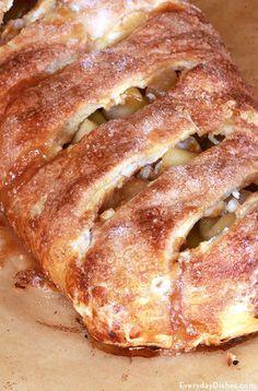 Homemade apple strudel recipe
