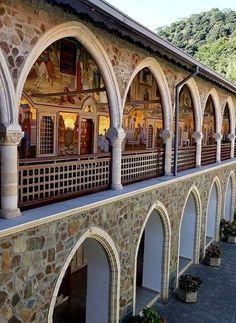 Byzantine Kykkos Monastery, Troödos Mountains, Cyprus | by Gisela Kr.