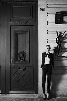 Yves Saint Laurent Returns To Couture - Hedi Slimane (Vogue.co.uk)