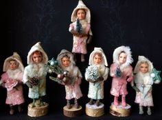 Spun Cotton, Spinning, Figurines, Face, Kids, Hand Spinning, Indoor Cycling