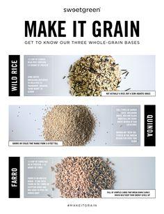 Sweetgreen / Make It Grain - wild rice, quinoa, farro