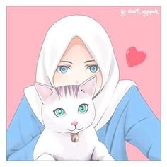 66 Ideas for wall paper anime couple art Cartoon Girl Images, Girl Cartoon, Cartoon Art, Hijab Drawing, Islamic Cartoon, Hijab Cartoon, Islamic Girl, Whatsapp Dp, Cute Cartoon Wallpapers