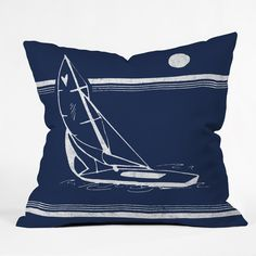 Leeana Benson Midnight Ride Outdoor Throw Pillow | DENY Designs Home Accessories