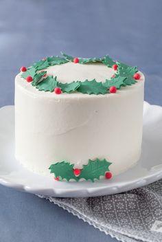Receta de tarta red velvet para Navidad