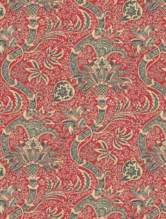 Morris & Co. 'Indian' pattern 1868-70 ~ Originally designed by George Gilbert Scott, adapted by William Morris