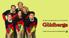 The Goldbergs – (ABC-September 24, 2014), Season 2.  An American TV sitcom, created by Adam F. Goldberg.  Stars: Wendi McLendon-Convey, Jeff Garlin, Hayley Orrantia, Troy Gentile, Sean Giambrone, voice of Patton Oswalt narrates, and George Segal. Produced by Goldberg, Seth Gordon, and Doug Robinson.  The pilot was on Hulu and ABC.com before TV.  Focuses on Jenkintown, Pennsylvania, based on the show runner's own childhood, he videotapes events, which are re-enacted throughout the program.