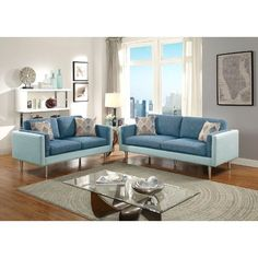 George Oliver Upper Stanton Sofa and Loveseat Set & Reviews | Wayfair